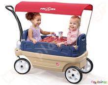 5977af9e0ed9 Βαγονάκι Πικ Νικ με Τέντα Step2 Παιδικά Trikes για Βόλτες