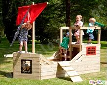 1a61f2c38d12 Ξύλινη Πειρατική Γαλέρα Ξύλινες Παιδικές Χαρές - Τραμπάλες - Παιχνίδια  Εξωτερικού Χώρου Activity Toys TP Παιδικά