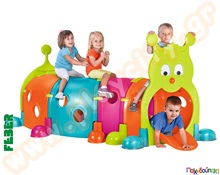 6aed93da6442 Πλαστικό τούνελ παιχνιδιού Χαρούμενη Κάμπια Βασικό Σετ Τούνελ Παιχνιδιού