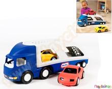 7647bb221b67 Μεγάλη Νταλίκα Μεταφορέας Οχημάτων (μπλε γκρι) 72 cm Little Tikes Παιχνίδια  Εξωτερικού Χώρου