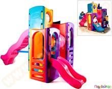 cd8d2f0a8ad5 Πλαστικό Σύστημα Παιδικής Χαράς Πολυσύνθετο γυμναστήριο Little Tikes  Παιχνίδια Εξωτερικού Χώρου και Μίμησης Little Tikes Συστήματα