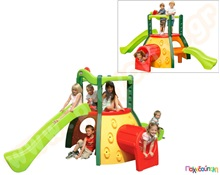 f40344d505f4 Πλαστικό Σύστημα Παιχνιδιού Διώροφο κέντρο δραστηριοτήτων Evergreen Little  Tikes Παιχνίδια Εξωτερικού Χώρου και Μίμησης Little Tikes