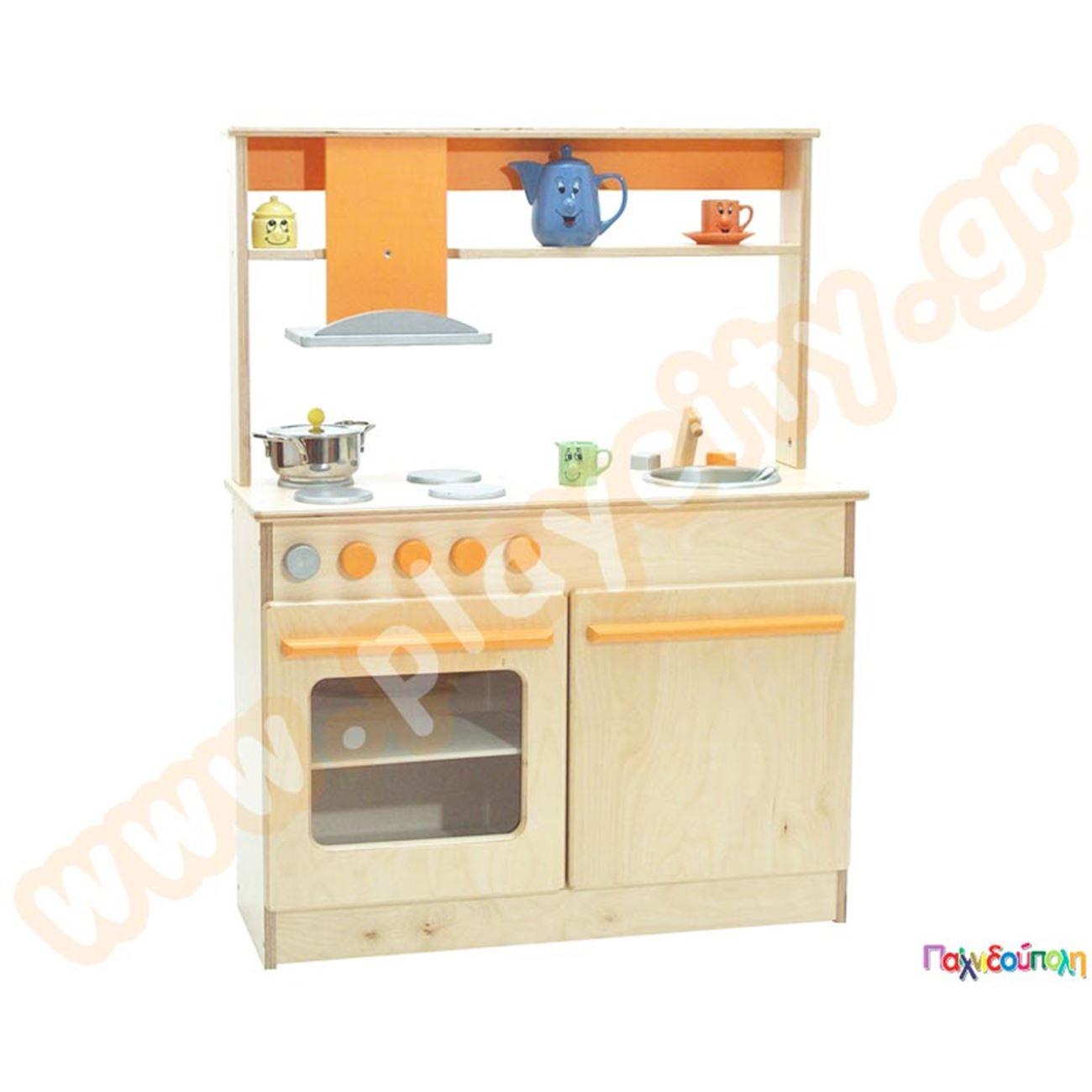 ed2c058218a7 Ξύλινα Έπιπλα Παιδικών Σταθμών και Νηπιαγωγείων Παιδική Κουζίνα ...