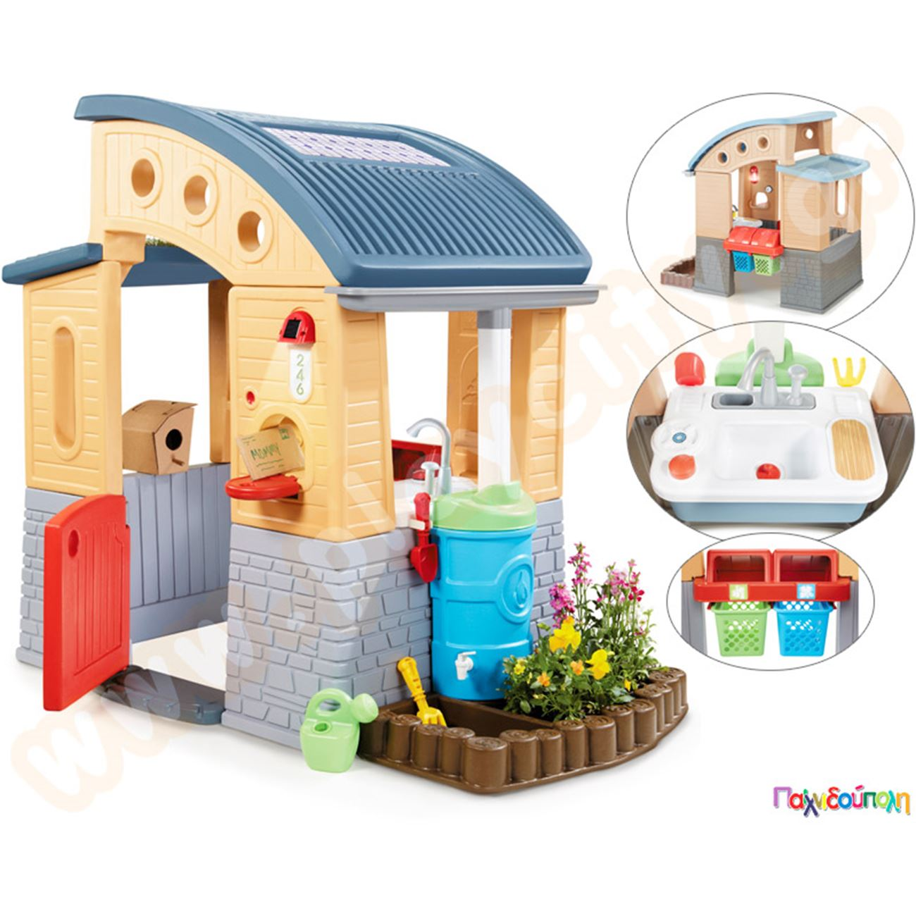4b412d2a7b66 Παιχνίδια Εξωτερικού Χώρου και Μίμησης Little Tikes Πλαστικό Παιδικό ...
